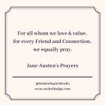 Austen's Prayer