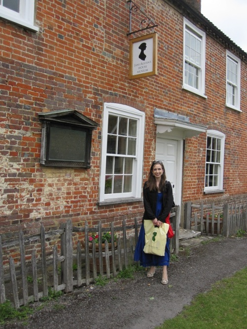 Jessica Voltz at Chawton House