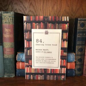 Image of bookshelf courtesy of Rachel Dodge.