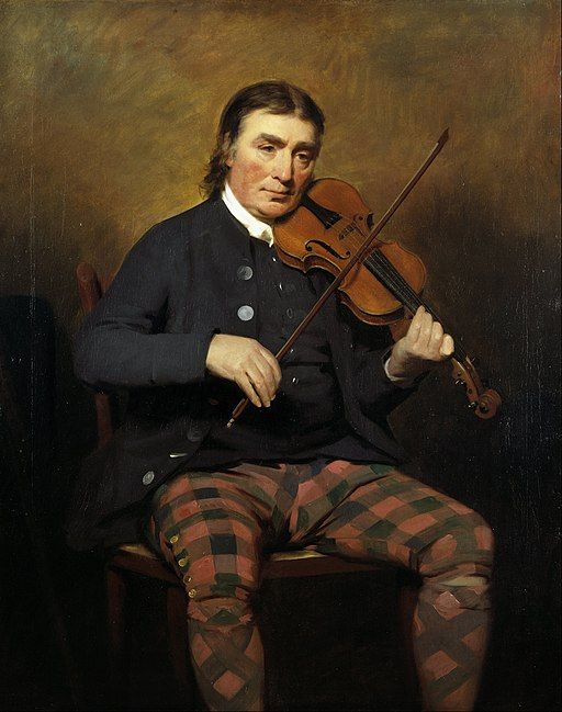 Image of Henry Raeburn, violinist and composer, 1727-1807