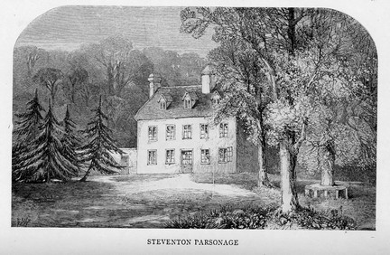 Image of Steventon Rectory, Wikimedia Commons