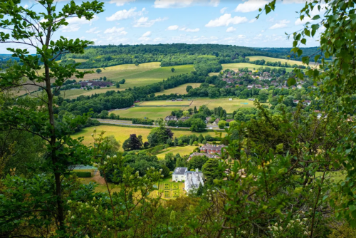 Image of a view of Burford.