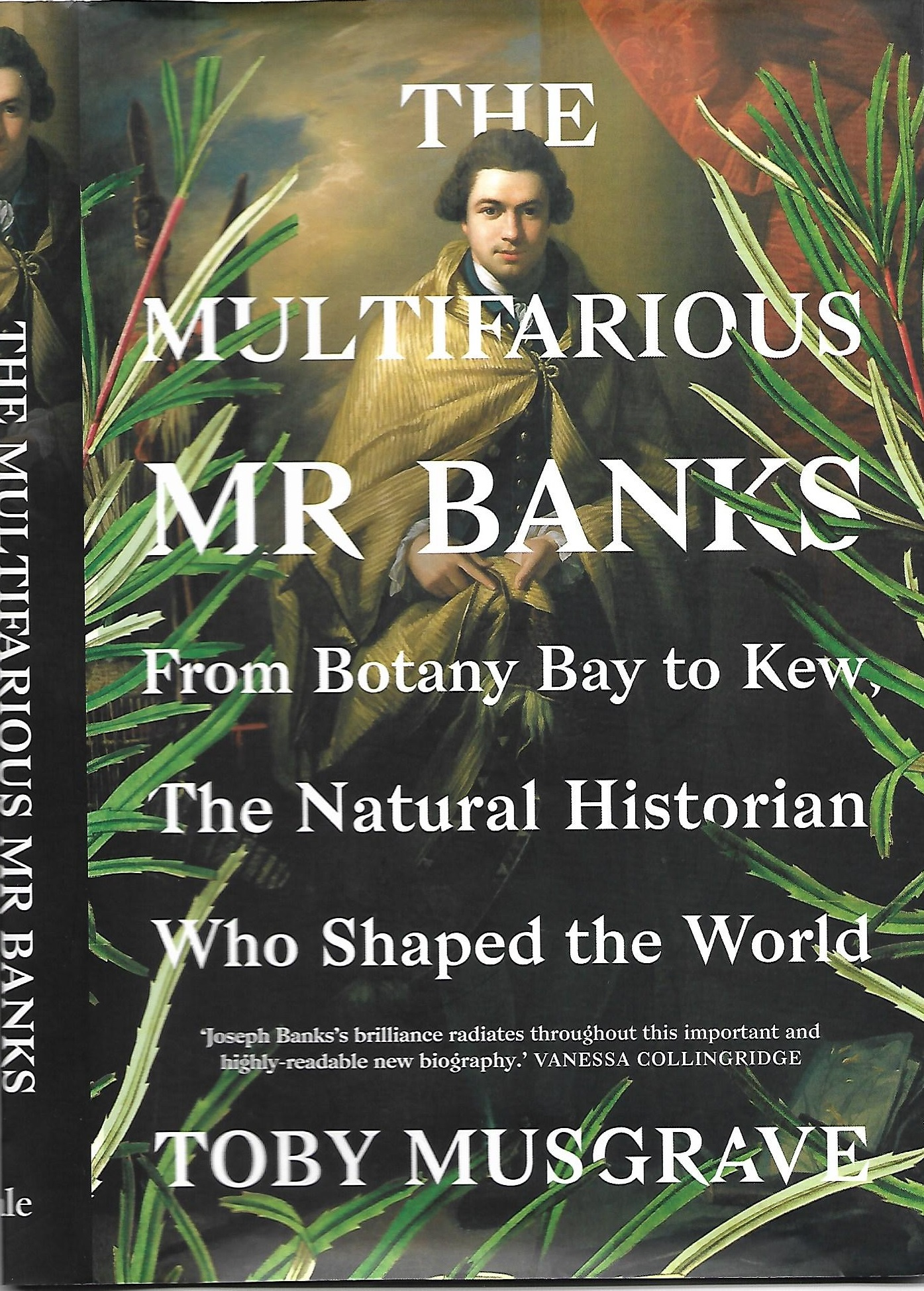 Image of the book cover of The Multifarious Mr Banks by Toby Musgrave