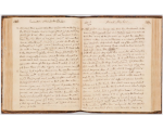 Two open pages of a Joseph Banks Journal, State Library of New South Wales