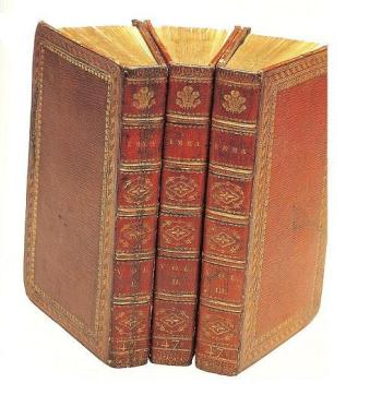 Image of the 3-decker edition for the Prince Regent of Emma.