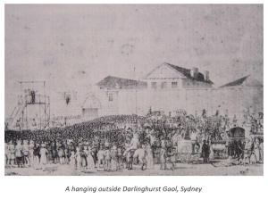 Image of A hanging outside Darlinghurst Gaol, Sydney