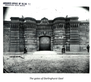 Image of the Gates of Darlinghurst Gaol