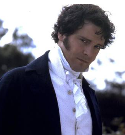 Image of Colin Firth as Mr. Darcy, 1995