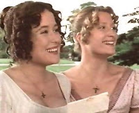Image of Lizzy and Jane Bennet from Jennifer Ehle Blogspot