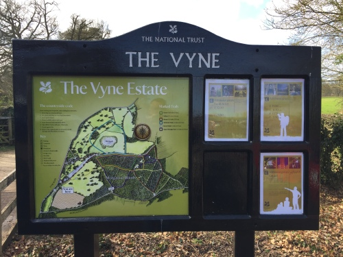 The Vyne Estate, The National Trust Map, image by Tony Grant