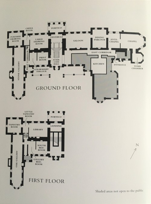 Floorplan of The Vyne
