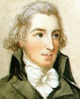 Watercolour portrait of James Austen