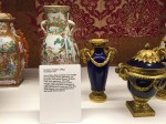 (Photo H) Some of John Chute's porcelaincollection