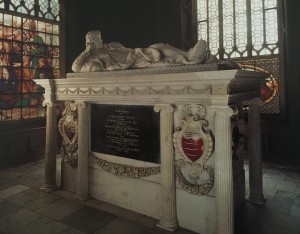 Photo of Challoner Chutes tomb