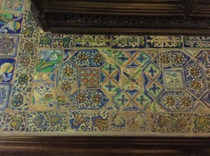 Image of Tudor floor tiles (Gothic Revival)