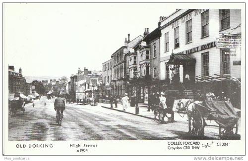 Image Dorking, the Red Lion Hotel, 1904 Postcard