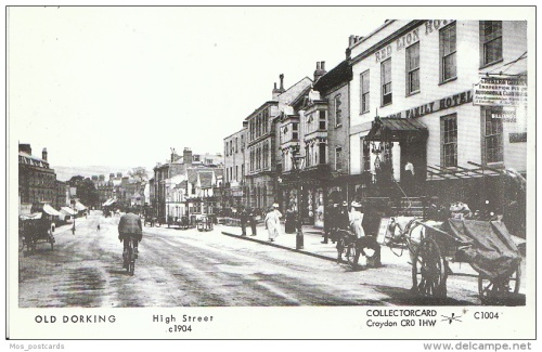 Image Dorking, the Red Lion Hotel, 1904 Postcard