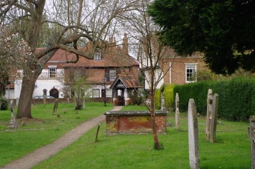 Image of Cobham churchyard