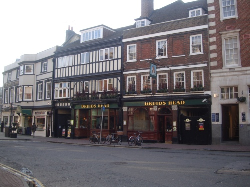 Image of O Druids head coaching inn Kingston