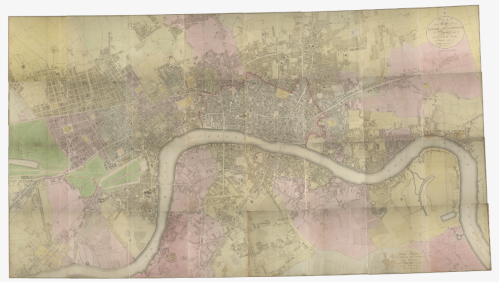Image of the full Horwood Map