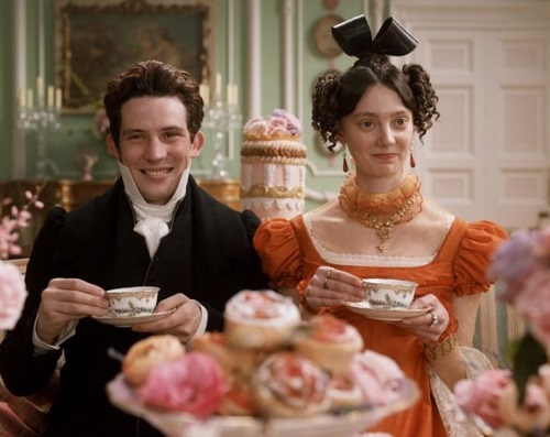 Image of Mr and Mrs Elton taking tea
