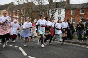 Pancake Race, Wikipedia image by Lestalorm, 2009