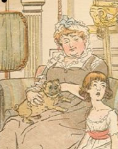 Detail of pug-Molland's