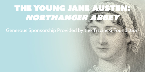 Image of Jane Austen and title of course