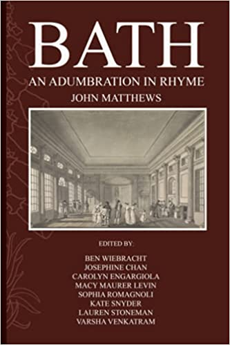 Book cover of Bath: An Adumbration in Rhyme by John Matthews